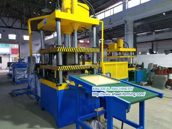 KINGREAL Plain metal Ceiling Tile Making machine installed in Malaysia