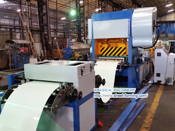 KSA Project 600X600mm Semi Automatic Perforated Metal Ceiling Tile Making Machine