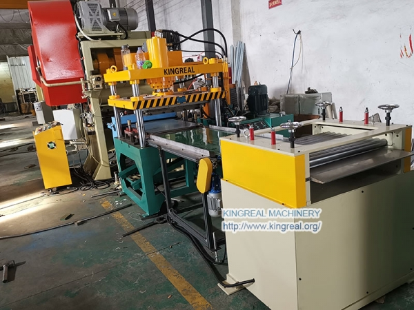 KINGREAL ceiling tile making machine Exported to India