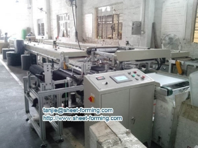 Full Perforated Acoustical Ceiling Tile Textile Stick Machine