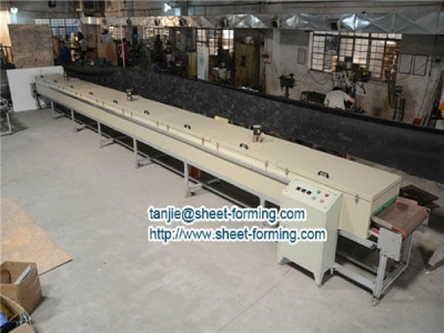 Drying Cooling and Package line for the textile glue machine